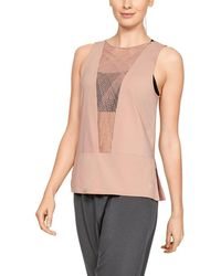 36782341e4 Under Armour - Misty Copeland Signature Embroidered Strappy-back Tank Top -  Lyst