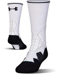 Under Armour - Men's Ua Highlight Football Crew Socks - Lyst