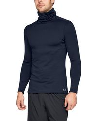 Under Armour - Coldgear Fitted Funnel Neck - Lyst