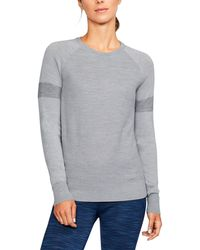 Under Armour - Women's Ua Panelled Sweater - Lyst