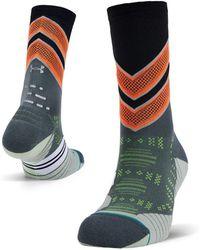Under Armour Men's X Stance Infinite Run Crew Socks - Black