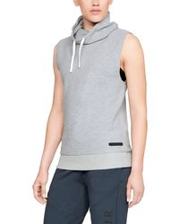 Under Armour - Women's Ua Unstoppable Sleeveless Funnel - Lyst