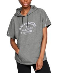 Under Armour Project Rock Double Knit - Gray