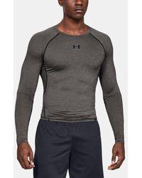 Under Armour Ua Heatgear® Armour Long Sleeve Compression Shirt - Grey