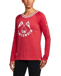 Under Armour - Wisconsin Iconic Rugby - Lyst