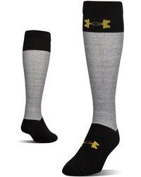 Under Armour - Men's Ua Hockey Armour® Over-the Calf Socks - Lyst