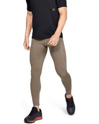 694a626a3a60e2 Under Armour Men's Ua Coolswitch Run Tights in Blue for Men - Lyst