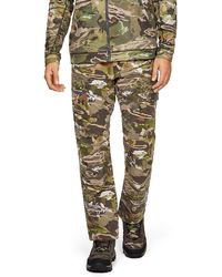 4fa25b12f4ae Under Armour Men's Ua Deadload Camo Field Pants in Black for Men - Lyst
