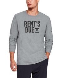 Under Armour Project Rock Rents Due - Gray