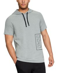 Under Armour - Men's Ua Unstoppable Short Sleeve Hoodie - Lyst