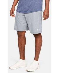 Under Armour Herren UA Sportstyle Shorts aus Baumwolle Grau SM