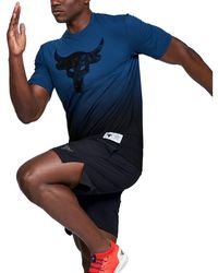 Under Armour Project Rock Bull Graphic - Blue