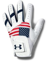 Under Armour Iso-chill Golf Glove - Red
