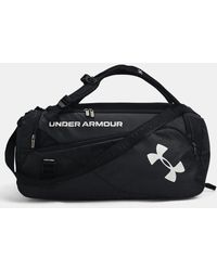 Under Armour Ua Contain Duo Md Backpack Duffle - Black