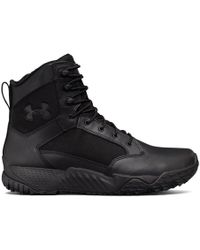 Under Armour Men's Ua Stellar Tactical Side-zip Boots - Black