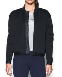 Under Armour - Luster Bomber - Lyst