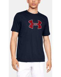 Under Armour Camiseta de manga corta UA Big Logo - Azul