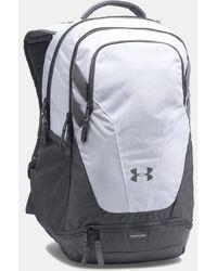 Under Armour Ua Team Hustle 3.0 Backpack - White