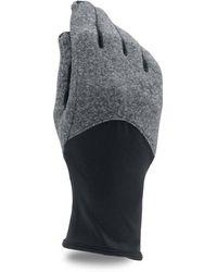 Under Armour Coldgear Infrared Fleece Gloves - Black