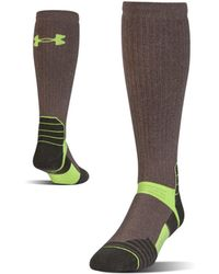 Under Armour - Men's Ua Armour Scent Control Over-the-calf Socks - Lyst
