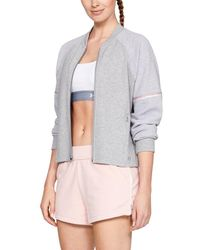Under Armour - Unstoppable Double Knit Bomber - Lyst