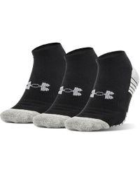 Under Armour - Ua Heatgear® Tech No Show Socks 3-pack - Lyst