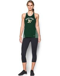 Under Armour - Women's Oakland Athletics Ua Techtm Tank - Lyst