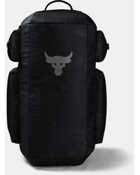 Under Armour Bolsa de deporte Project Rock - Gris