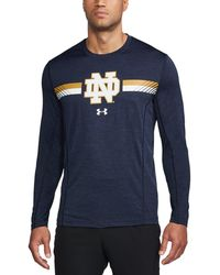 Under Armour   Men's Notre Dame Long Sleeve Training T-shirt   Lyst