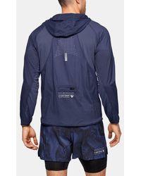 Under Armour Men's Ua Qualifier Weightless Packable Jacket - Blue
