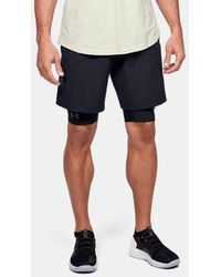 Under Armour Men's Project Rock Unstoppable Shorts - Black