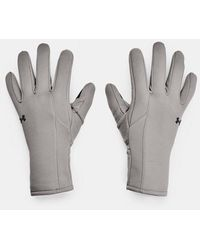 Under Armour UA Storm Fleece Handschuhe Grau LG