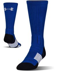 Under Armour - Men's Ua Unrivaled Crew Socks - Lyst