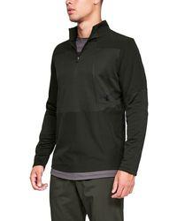 72b59ec52 Under Armour Men's Ua Storm Armour® Fleece Big Logo Hoodie in Blue ...