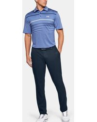 Under Armour Ua Showdown Tapered Trousers - Blue