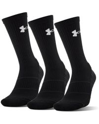 Under Armour - Performance Crew - 3-pack - Lyst