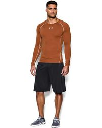Under Armour - Men's Ua Heatgear® Armour Long Sleeve Compression Shirt - Lyst
