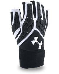 Under Armour | Men's Ua Combat V Half-finger Football Gloves | Lyst