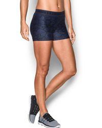 Under Armour - Women's Ua Heatgear® Armour Printed Shorty - Lyst