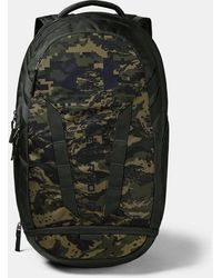 Under Armour Ua Hustle 5.0 Backpack - Green