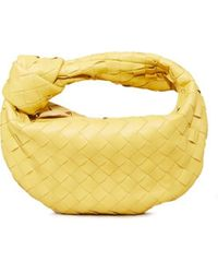 Bottega Veneta Mini Hobo Bag 'Mini Jodie' Gelb