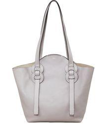 Chloé Shopper 'Darryl Large' Stormy Grey - Grau