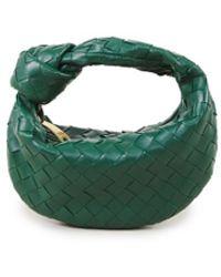 Bottega Veneta Mini Hobo Bag 'Mini Jodie' Grün