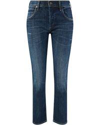 Citizens of Humanity Slim Fit Boyfriend Jeans 'Emmerson' Blau