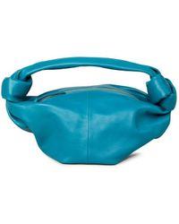 Bottega Veneta Tasche 'Mini Bag' Petrol - Blau