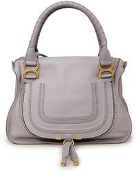 Chloé Handtasche 'Marcie Medium' Cashmere Grey - Grau