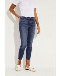 J Brand - Mid Rise Jeans 'Capri' Blau - Lyst