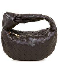 Bottega Veneta Mini Hobo Bag 'Mini Jodie' Braun - Mehrfarbig