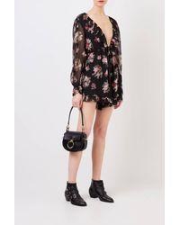 Zimmermann Jumpsuit mit floralem Print Multi - Schwarz