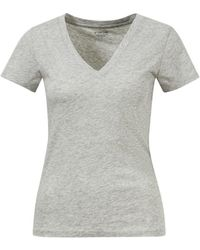 Vince Basic T-Shirt Grau - Mehrfarbig